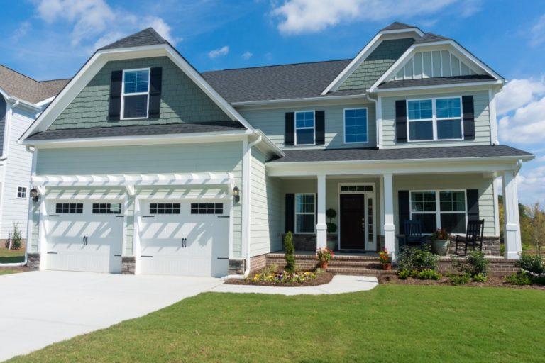 New suburban house