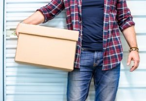 Man holding a box