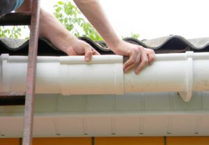 Fixing and maintaining gutters
