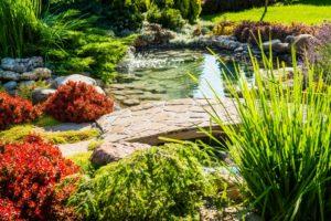 Hardscapped garden