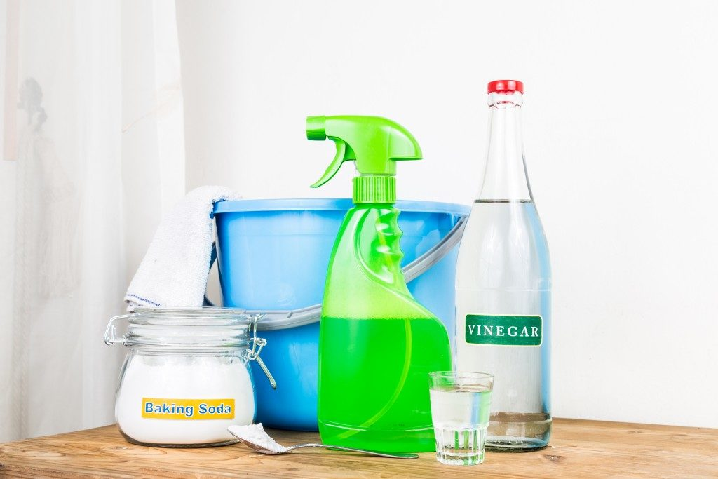 Ingredients used as house cleaning agents