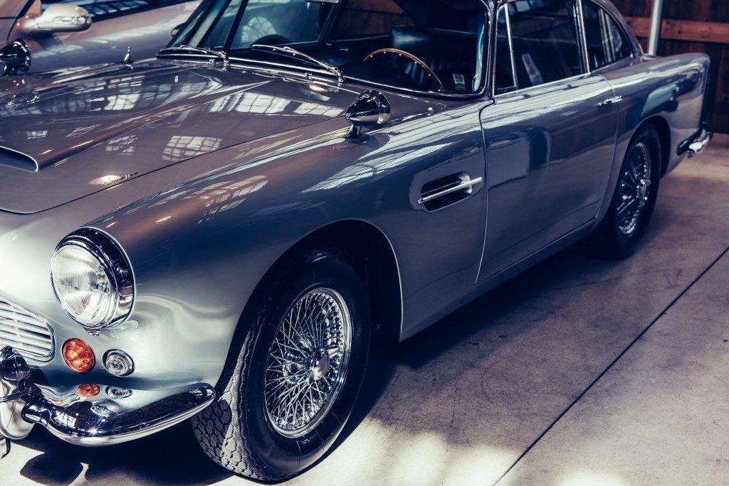 low vintage car