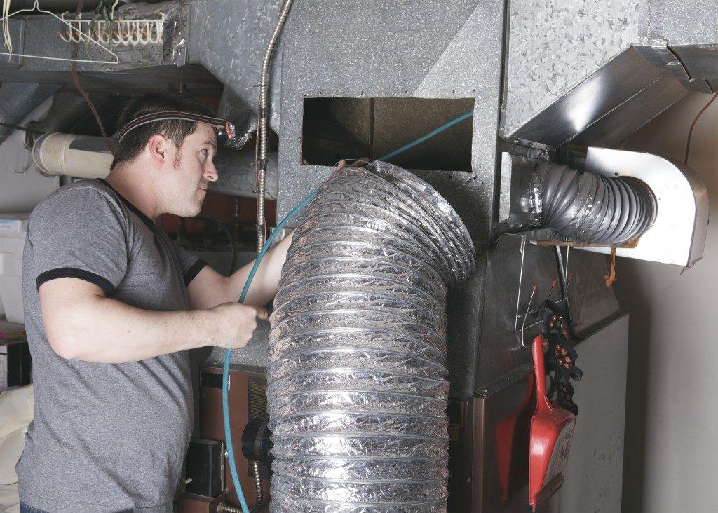 aluminum foil ducts