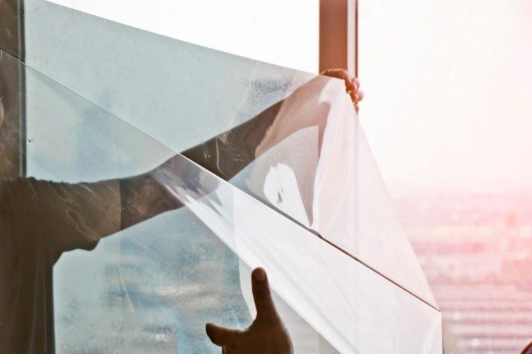 installing window tint