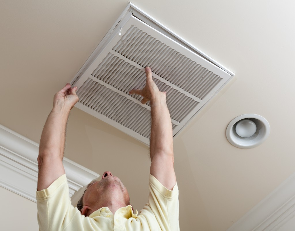 checking the HVAC