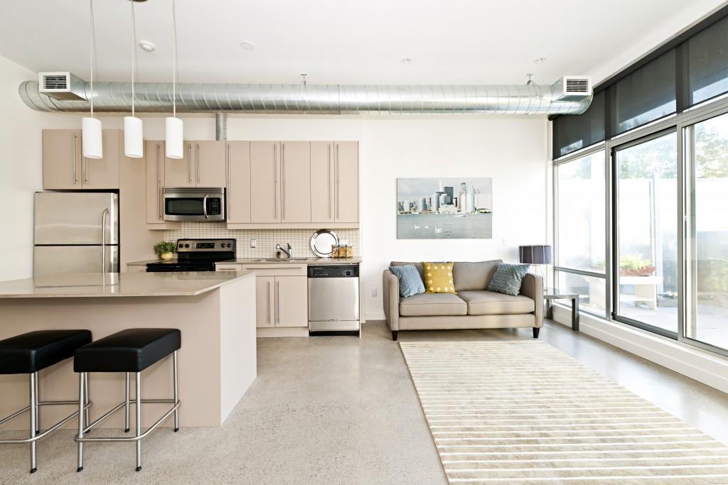 Modern minimal interior
