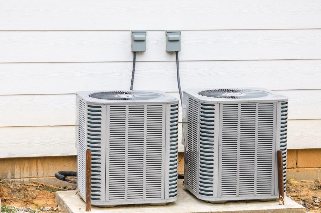 installed HVAC units