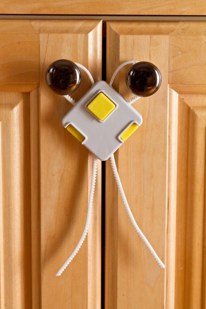 secure the door