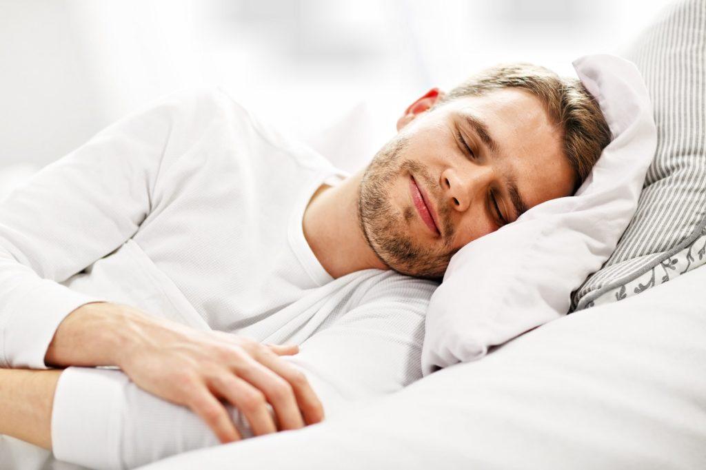 guy sleeping