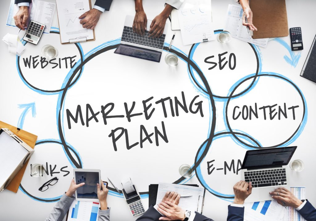 team discussion marketing plan
